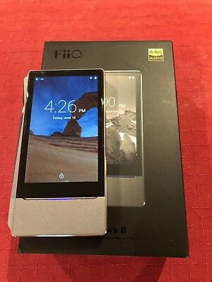 FiiO X7 Mkii DAP/ Digital high res music player (Perfect working order) + Extras