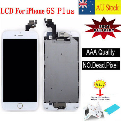 For iPhone 6S Plus LCD Screen Touch Digitizer Full Assembly replacement white
