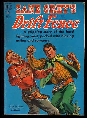 Four Color #270 (Zane Grey's Drift Fence) Nice Dell File Copy Comic 1950 VG
