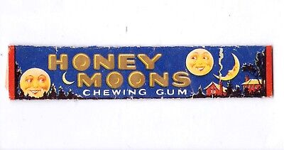 Honey Moon Chewing Gum Wrapper & 2 Kis-Me Gum Wrappers