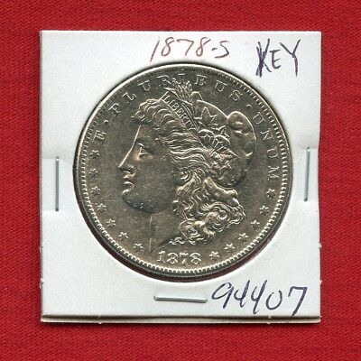 1878 S Morgan Silver Dollar #94407 High Grade Coin Us Mint Rare Key Date Estate