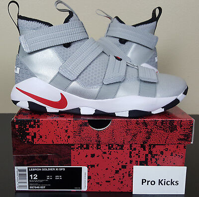 6345dd2c894c4 Nike Lebron Soldier Xi Sfg Basketball Silver Bullet Red New 897646-007  (Size 12