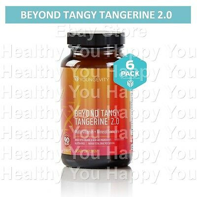 Youngevity Beyond Tangy Tangerine Tablets 2.0 (6 PACK) BTT