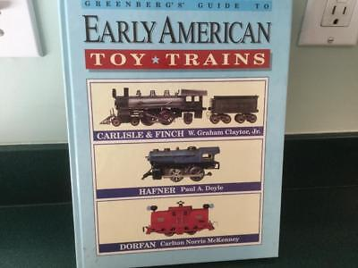 1993  Greenberg's Price Guide  EARLY  AMERICAN TOY TRAINS