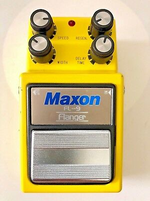MAXON FL9 FLANGER ANALOG Guitar JAPAN in Box