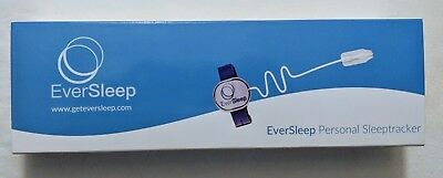 Brand New! EverSleep Sleep Tracker Device Blood Oxygen Apnea for Android or iOS
