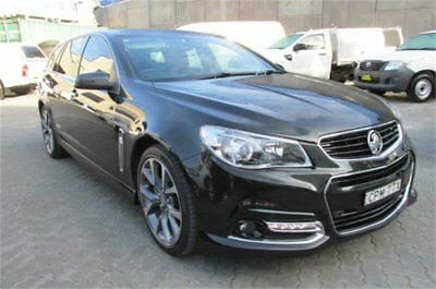 2013 Holden Commodore VF SS-V Black Automatic 6sp A Wagon