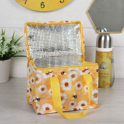 BEE & DAISY Cool Bag MINI Lunch Box Lunchbox Insulated Cooler SMALL Picnic Bag