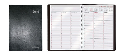 Collins 2019 A4 Leadership Week to View (Appointments) Wiro bound Diary - CP6740