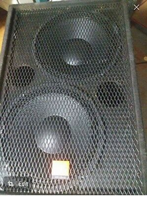 "Double 15"" subs (Pair) 2000wrms @4ohms"