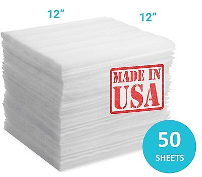 50-Pack Foam Wraps Sheets Cushioning,Moving Storage Packing,Shipping Supplies