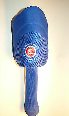 Chicago Cubs Used Golf Club Head Cover Fisher Nuts Wrigley Field  NICE! Cubbies