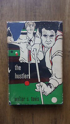 Walter S Tevis – The Hustler (1st/1st UK 1960 hb with dw) Paul Newman Oscar film