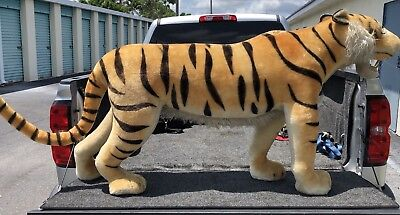 Vintage And Very Rare Large Stieff Tiger 1950's Store Display