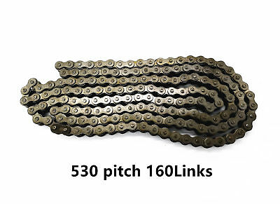 #530 Pitch 160 Links WITH JOINT LINK  honda yamaha kawasaki suzuki DUCATI BIKE