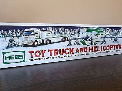HESS Collectable Truck TOY TRUCK AND HELICOPTER 2006