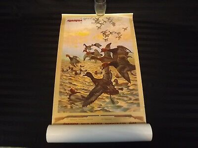 Remington Arms 1908 Reproduction Calendar from 1992 Duck Hunting Complete