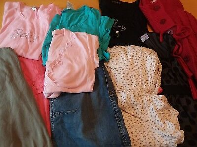 Maternity clothes lot, small