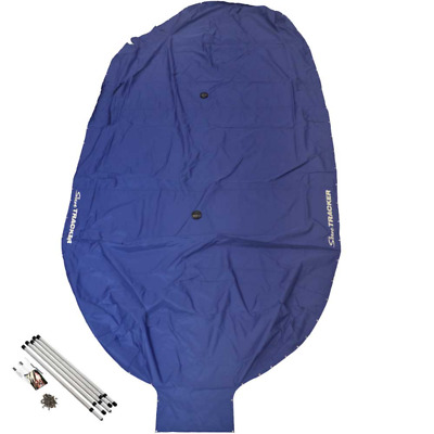 Sun Tracker Boat Mooring Cover | Fishin Barge 20 DLX Signature Blue White