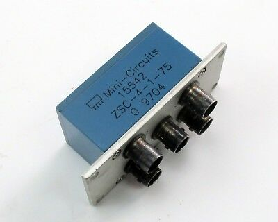 Mini-Circuits ZSC-4-1-75 Power Splitter / Combiner - 4-Way, 0°, 75 Ohm, 1-200MHz