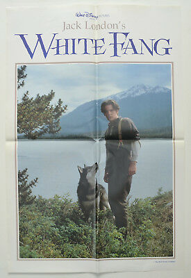 WHITE FANG (1991) Original Double Crown Movie Poster - Ethan Hawke (Version 1)