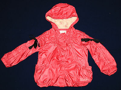 Girls Clothing Outerwear rain coat Coat JACKET Size 4T 5T 4-5 years