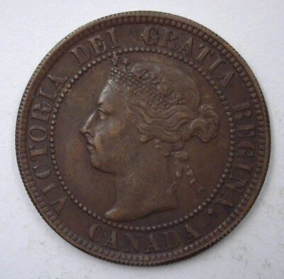 Canada 1894 Large Cent  Nearly Uncirculated