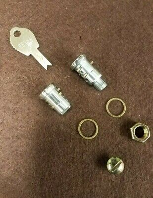 Duncan/miller 60/76 Parking Meter Male/female Lock Cylinders With Matching Key.