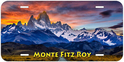 Monte Fitz Roy Novelty Auto Car License Plate