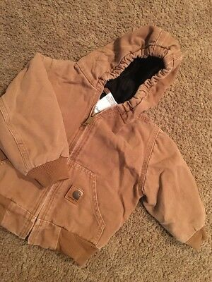 2t CARHARTT WINTER COAT USED GOOD CONDITION