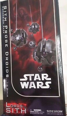 Sideshow Star Wars Sith Probe Droid Expansion Pack 1/6 Scale Darth Maul NEW