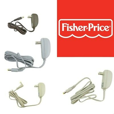 New Fisher Price 6V-8V Swing & Auto Rock 'n Play Adapter Power Cord Replacements