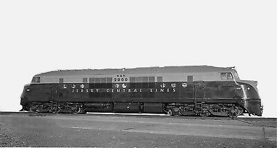New Jersey Central Railroad photo Baldwin Locomotive 2000 Double Ender