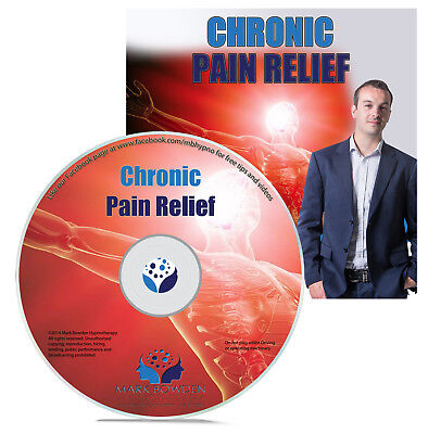 Chronic Pain Relief Self Hypnosis CD Hypnotherapy Knee Pain to Severe Back Pain