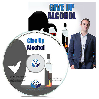 Give Up Alcohol Hypnosis Hypnotherapy CD Cut Down on Drinking Dangerous Binging