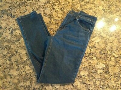 Euc Hudson Girl's Lian Straight Leg Denim Jeans Dark Wash - Size 14 - Free Ship!