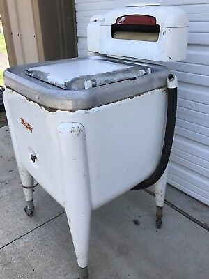 Maytag E2L Vintage Wringer Washer Washing Machine