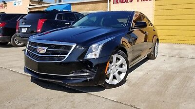 2016 Cadillac ATS Base 2016 Cadillac ATS Turbo charged black on black rebuilt title SAVE !!!