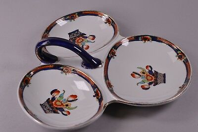 Vintage Rushton Keeling & co Losol Ware Hors d'oeuvres Ceramic Serving Dish