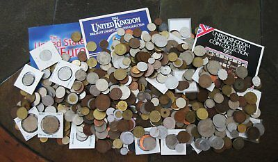 9½ Pounds  Old World Coins (Possibly Scattering Of Tokens)Huge Lot > No Rsrv