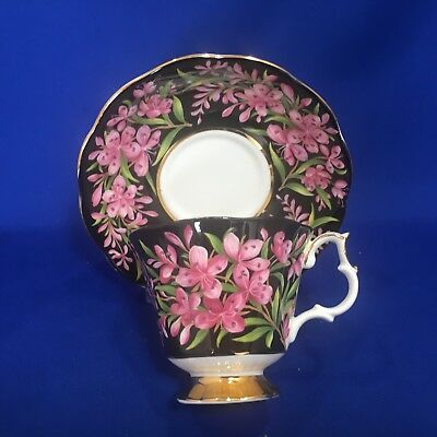 Royal Albert Fireweed Canada Provincial Flower Great Condition