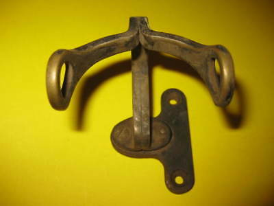 Antique   Western Electric Telephone E1 handset holder Stamped 5A