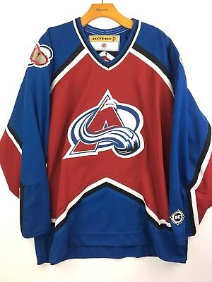 KOHO K CANADIAN NHL Officially Licensed Forsberg  21 Colorado Avalanche  Jersey L -  26.00  93709bd7b