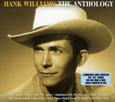 Hank Williams ANTHOLOGY 1946-1943 Best Of 75 SONGS Essential Collection NEW 3 CD