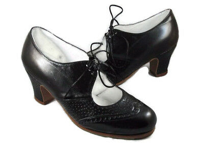 Flamenco professional shoes  brand new black leather choose your size