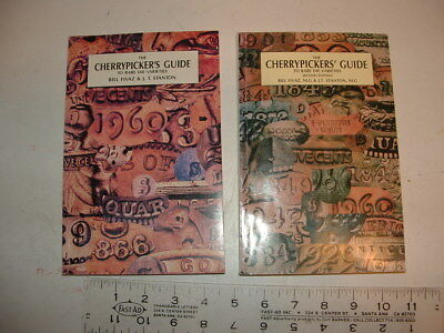 1st & 2nd editions the cherrypickers guide to rare die variations, 1st ed signed