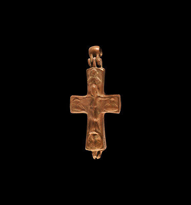 Byzantine Reliquary Cross from constantinople 4 1/4""