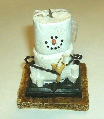 Original S'mores Midwest Ornament Snowman with Sling Shot