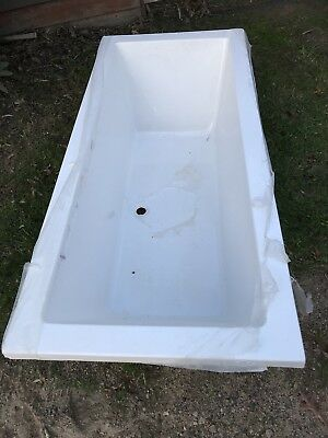 Bath Tub Felino white acrylic drop in