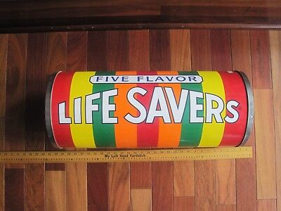 Antique Life Savers Candy Advertising Giant Roll 1966 Nabisco Unique Look